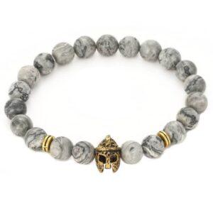 Gouden krijgen armband te koop bij Laconic