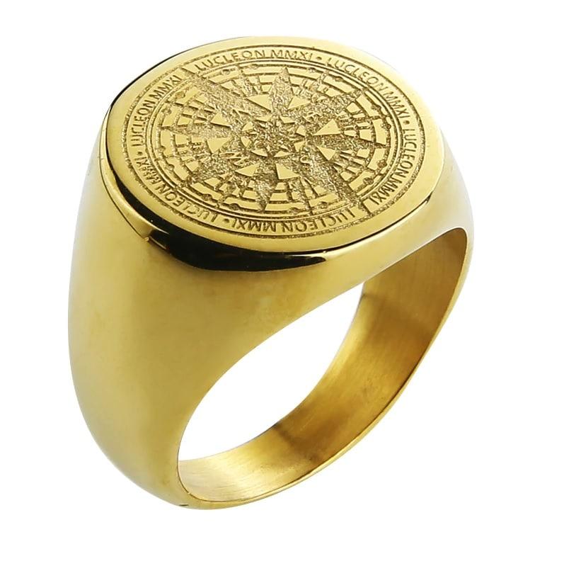 Kompas ring te koop bij Laconic